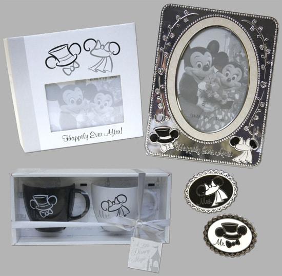 Bride and Groom Disney Ear Hat Merchandise