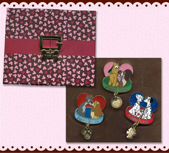 'Love is Magical' 'Puppy Love' Pin Set