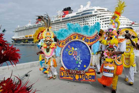 Disney Dream Arrives in the Bahamas