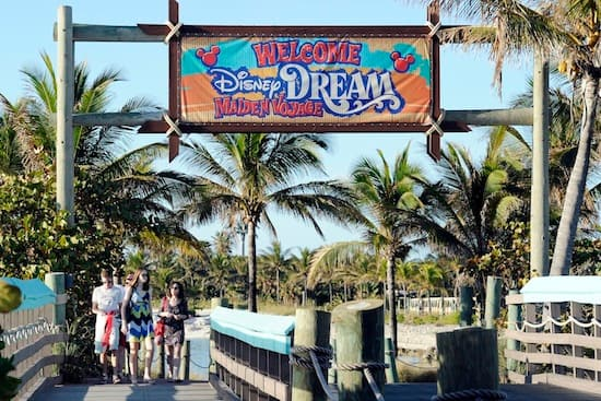 Castaway Cay is Disney's private island in the Bahamas