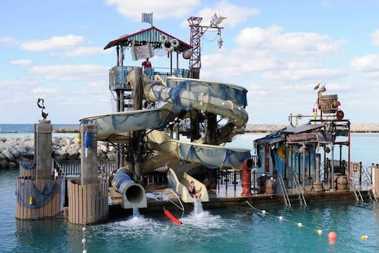 Pelican Plunge is one of many recent enhancements on Castaway Cay