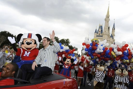 Walt Disney World Parade Celebrates Super Bowl MVP Aaron Rodgers