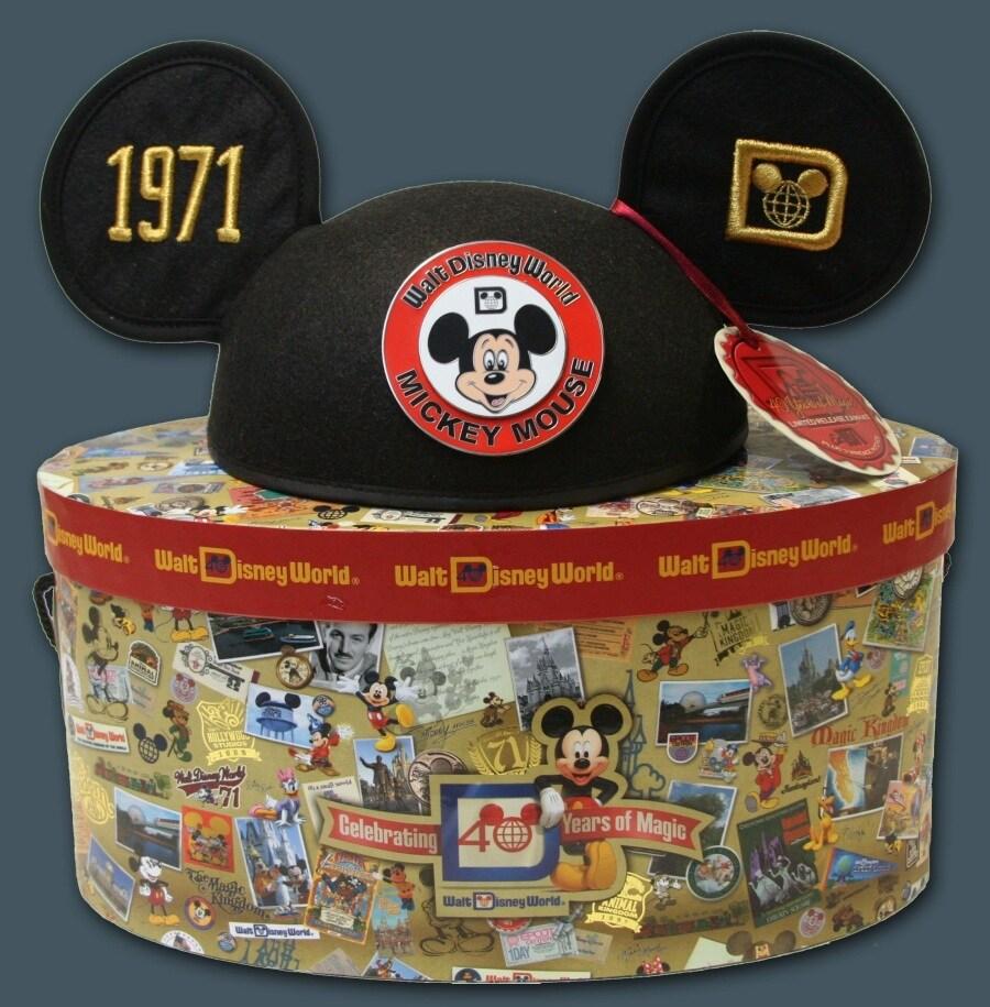 b93d99ffffd Walt Disney World 40th Anniversary Ear Hats Parks. Mickey Monogrammed ...