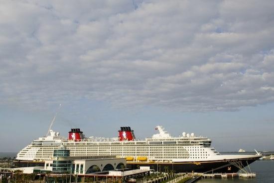 The Disney Dream in Port Canaveral, By: Matt Stroshane