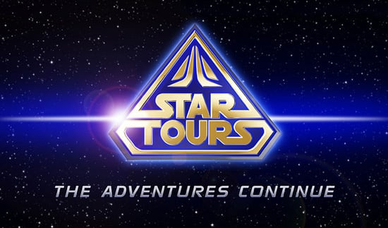 Star Tours - The Adventure Continues at Disneyland Resort