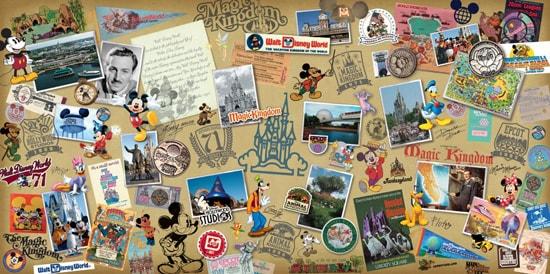 Walt Disney World 40th Anniversary Merchandise Collage