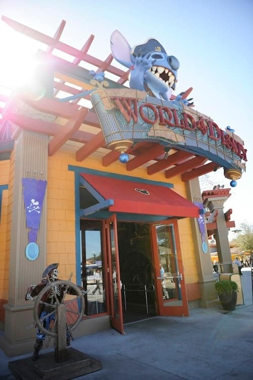 World of Disney Store in Downtown Disney Marketplace
