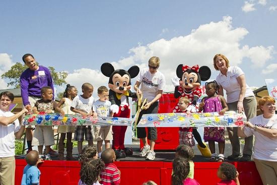 Disney VoluntEARS Help with a KaBOOM! Playground Build at Orlando Day Nursery