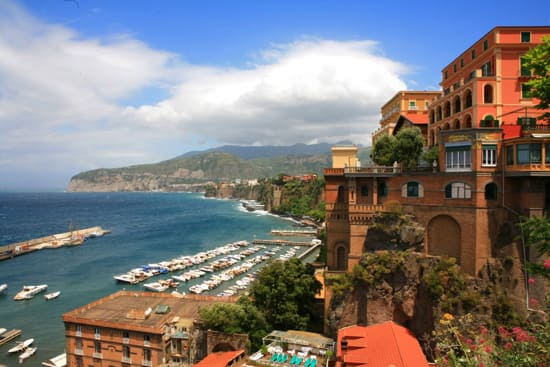 In Summer 2011, guests will visit charming cities in Italy, such as Naples.