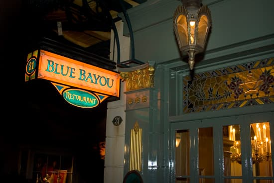 Blue Bayou at Disneyland Park