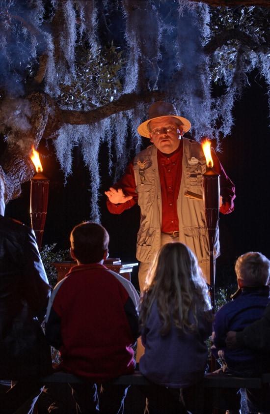 B'Lou Crabbe's Tall Tales at Disney's Hilton Head Island Resort