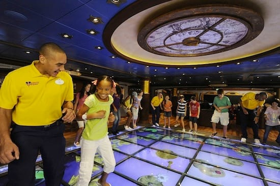 Children and Youth Counselors step onto the Magic PlayFloor for a fun, interactive gaming experience