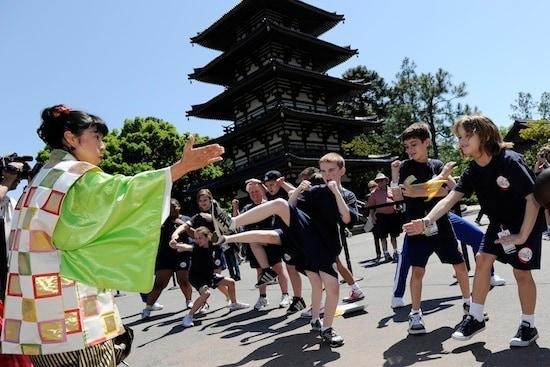 Fifty Kids Celebrate Healthy Living at Walt Disney World