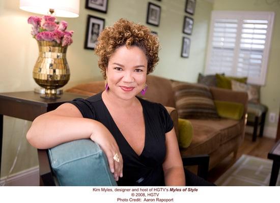 Kim Myles of HGTV's 'Myles of Style'