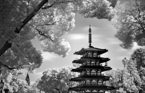 Pagoda at Epcot
