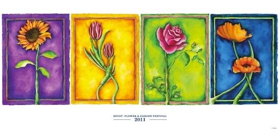 Epcot International Flower & Garden Festival Poster