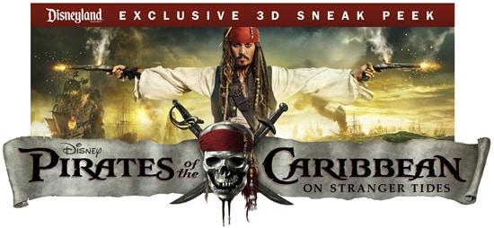 'Pirates of the Caribbean: On Stranger Tides' Exclusive 3D Sneak Peek