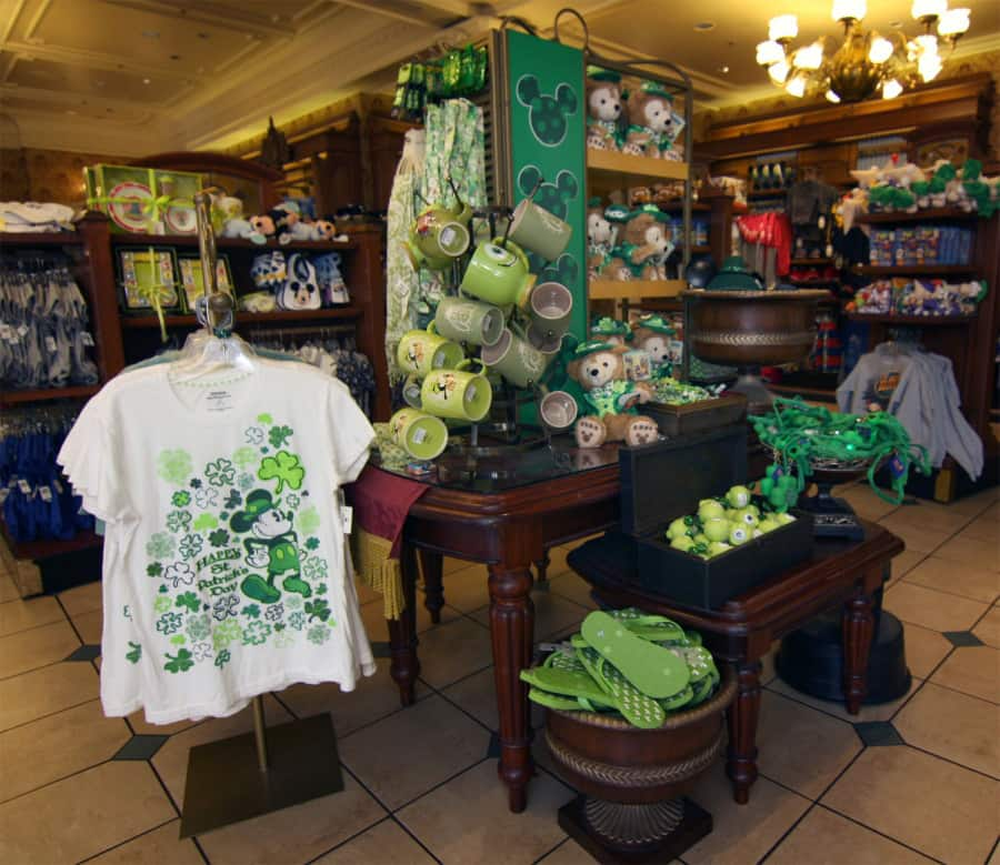 something green for st patrick s day from disney parks disney