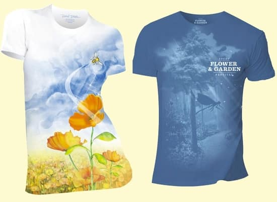 Epcot International Flower & Garden Festival T-Shirts