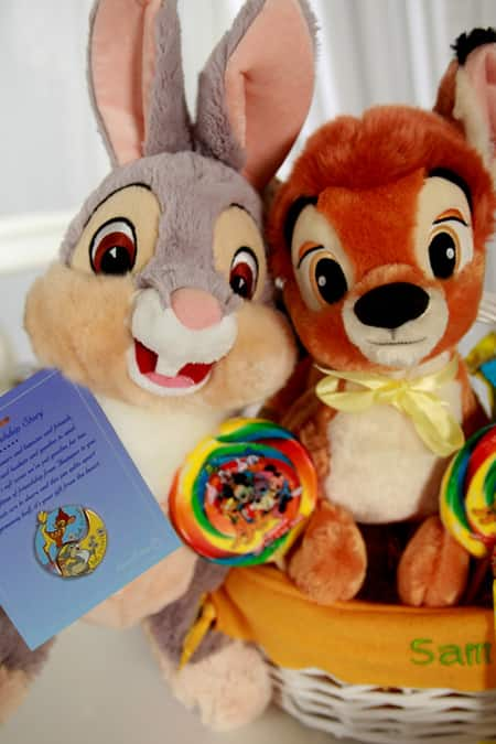 BFF Basket from Disney Floral & Gifts, Featuring Thumper and Bambi