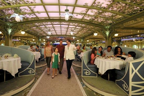 Enchanted Garden Aboard the Disney Dream