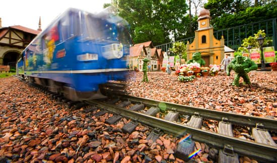 Miniature Garden Railroad at the Germany Pavilion in Epcot