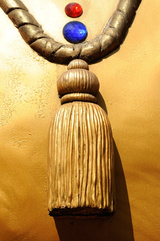 Have You Seen This Gold Tassel at Disney Parks?