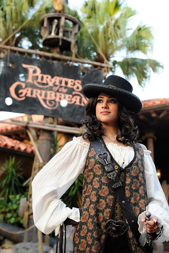 Captain Jack Meets His Match: Angelica Lands in Adventureland at Disney Parks