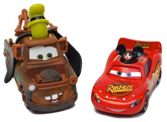 Mater and Lightning McQueen from 'Cars in the Parks' Line