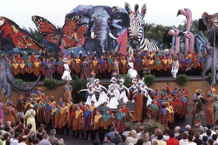 Disney's Animal Kingdom Dedication Ceremony