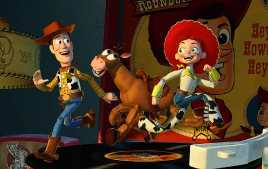 Bullseye from 'Toy Story 2' and 'Toy Story 3'