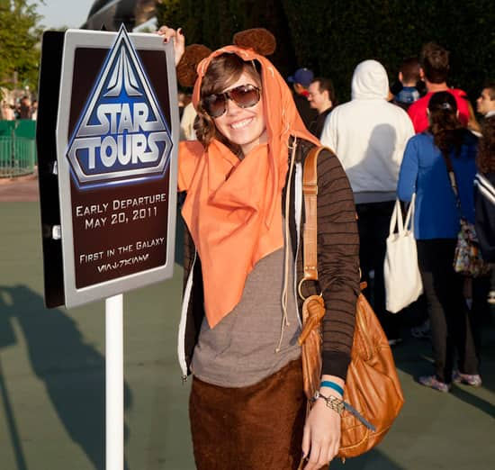 Miki, From Covina, Ca., Wearing an Ewok Costume