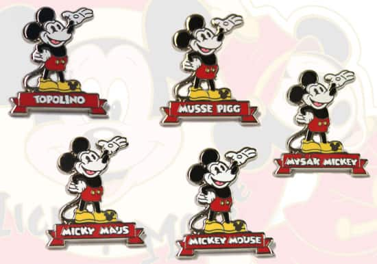 Hidden Mickey Mouse Pins Coming to Disney Parks