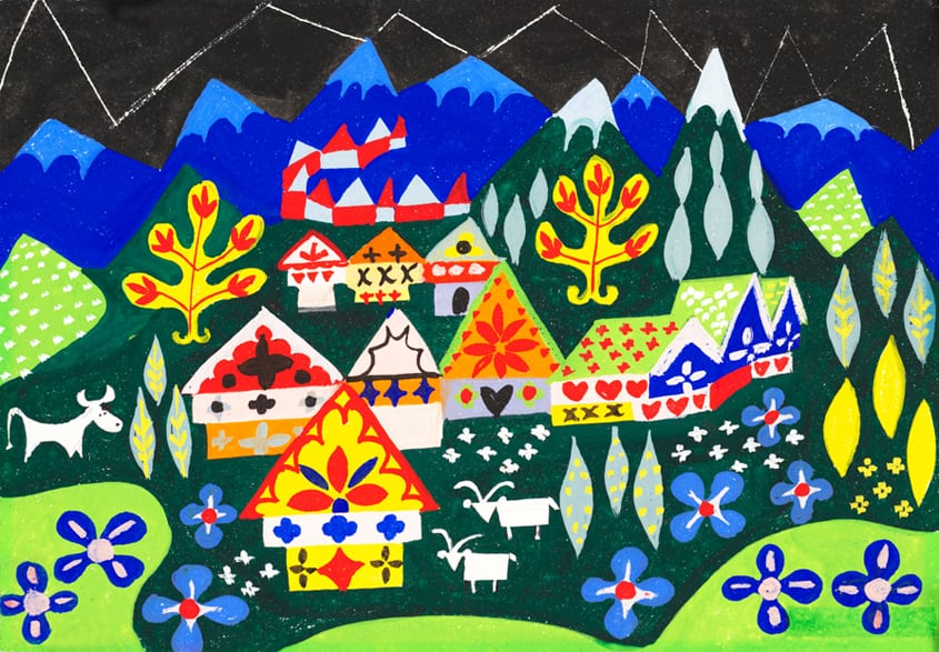 Celebrating the Art of Mary Blair at The Disney Gallery