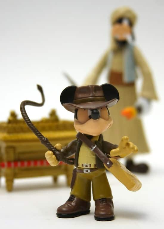 Mickey Mouse as Indiana Jones and Goofy as Sallah in New Two-Figure Disney Parks Set