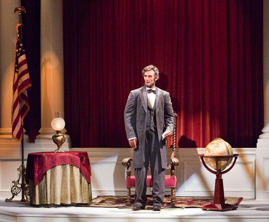 'Great Moments with Mr. Lincoln' at Disneyland Park