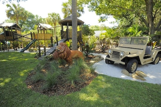 Disney's Animal Kingdom Comes to Life in the Parker Family's Yard