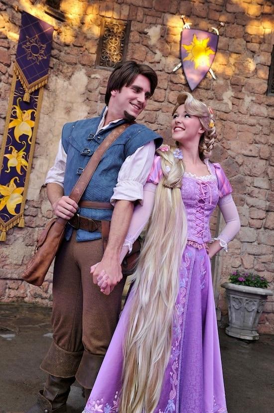 Princess Rapunzel and Her Prince Flynn Rider