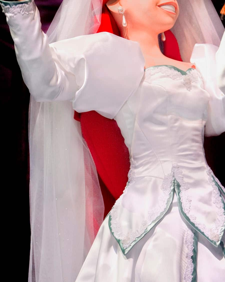 Princess disney wedding dresses ariel forecasting dress in spring in 2019