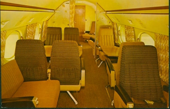 Interior of 'The Mouse' Airplane