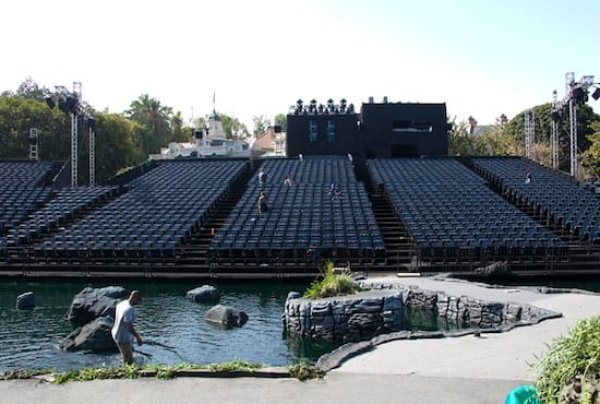 Setting the Stage for 'Pirates of the Caribbean - On Stranger Tides' World Premiere at Disneyland Park