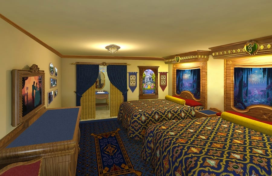 Royal Guest Room at Disney's Port Orleans Resort