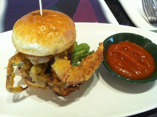 Soft-Shell Crab Sliders from California Grill at Disney's Contemporary Resort