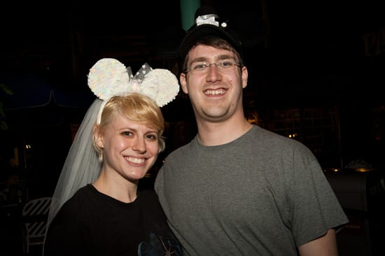 Adam Pitzer and Stephanie Weis at the Star Tours Meet-Up at Disney's Hollywood Studios