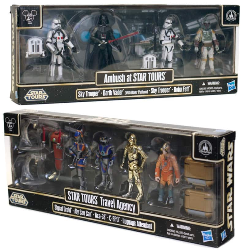Star Tours Action Figures
