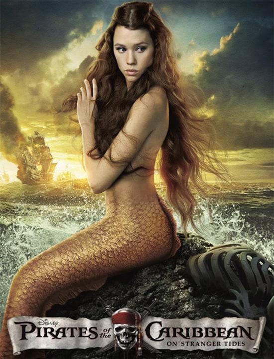 Mermaids Sighted at The Pirates League at Magic Kingdom Park