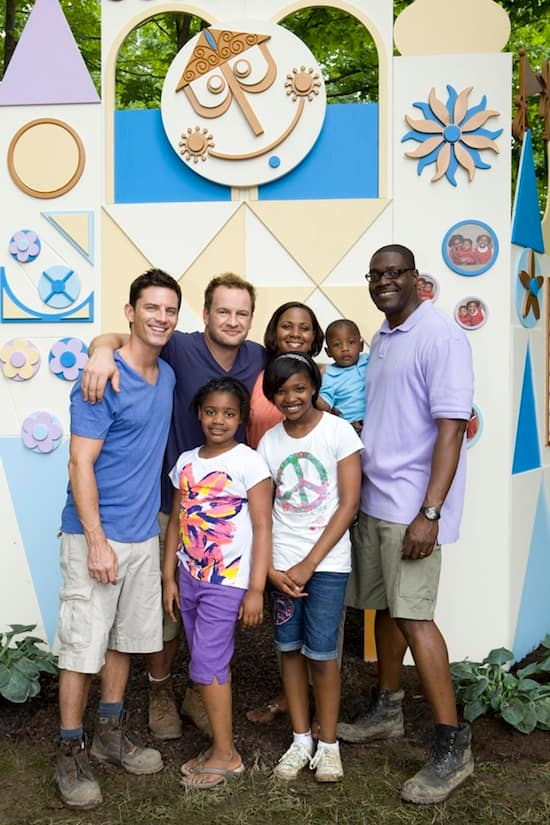 The Williams Family on 'My Yard Goes Disney'