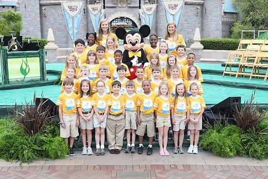 Disney's Planet Challenge Winners Celebrate at Disneyland Resort