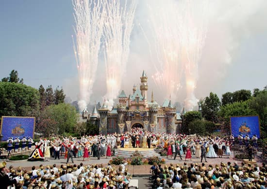 'The Happiest Homecoming on Earth' for Disneyland's 50th Anniversary