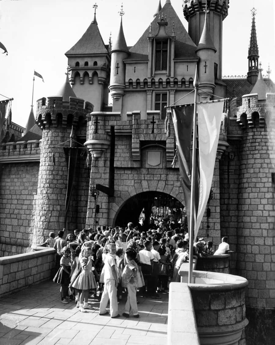 Getting Ready For Disneyland Park To Debut A Look Back At July 17